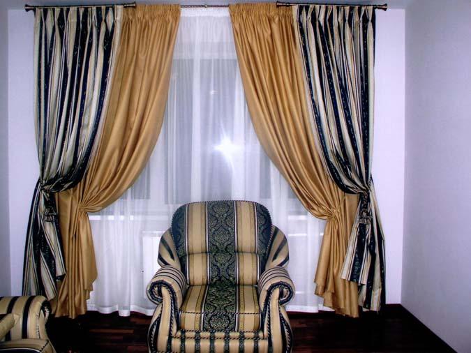 Сшить шторы из тафты своими руками