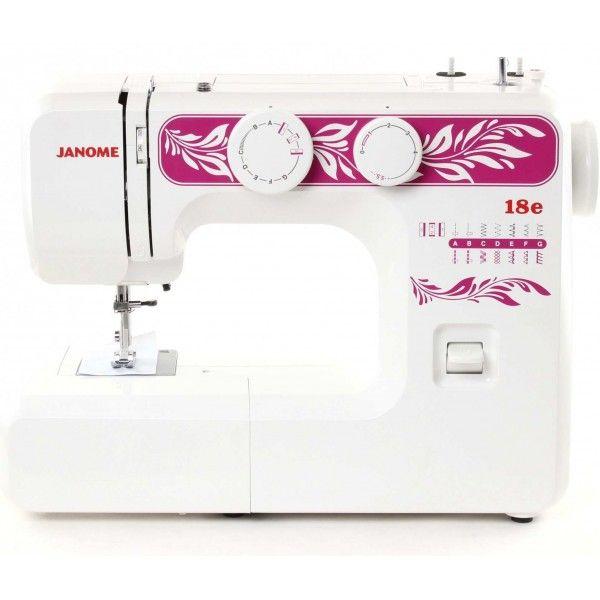 Особливості швейних машин JANOME